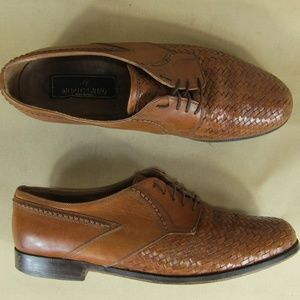 Mediterraneo US 10 Men Oxford Woven Dress Shoes